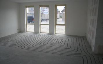 Vloerverwarming Huizen -